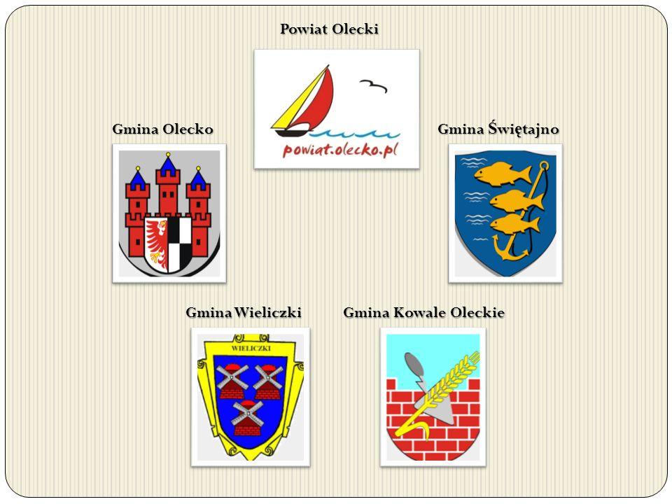 Powiat Olecki Gmina Olecko Gmina Ś wi ę tajno Gmina Kowale Oleckie Gmina Wieliczki