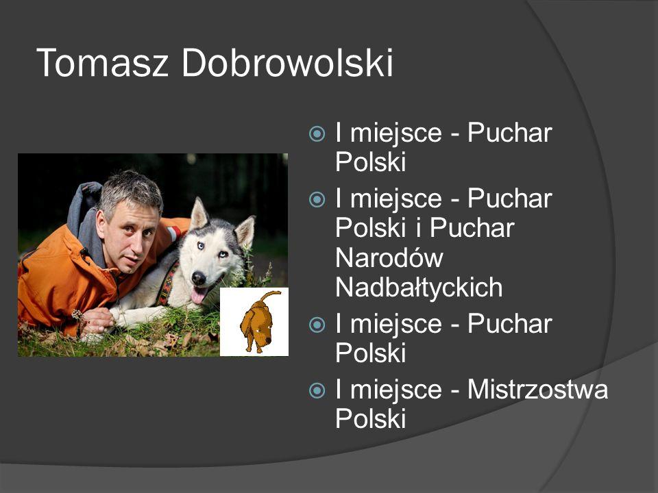 Tomasz Dobrowolski I miejsce - Puchar Polski I miejsce - Puchar Polski i Puchar Narodów Nadbałtyckich I miejsce - Puchar Polski I miejsce - Mistrzostw