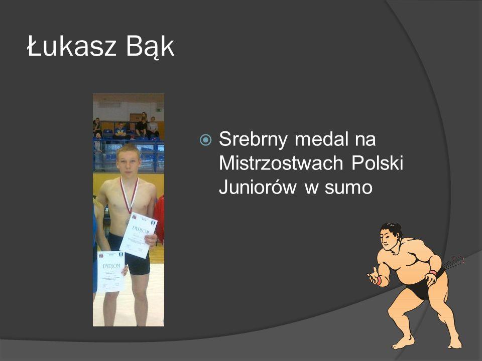 Łukasz Bąk Srebrny medal na Mistrzostwach Polski Juniorów w sumo