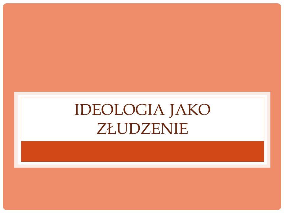 IDEOLOGIA JAKO CZĘŚĆ KULTURY