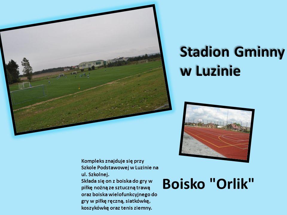 Stadion Gminny w Luzinie