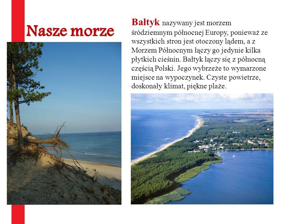Bałtyk nazywany jest morzem śródziemnym północnej Europy, ponieważ ze wszystkich stron jest otoczony lądem, a z Morzem Północnym łączy go jedynie kilk