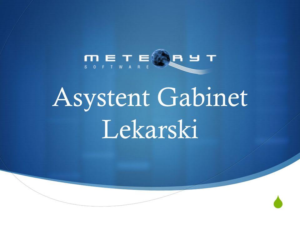 Asystent Gabinet Lekarski