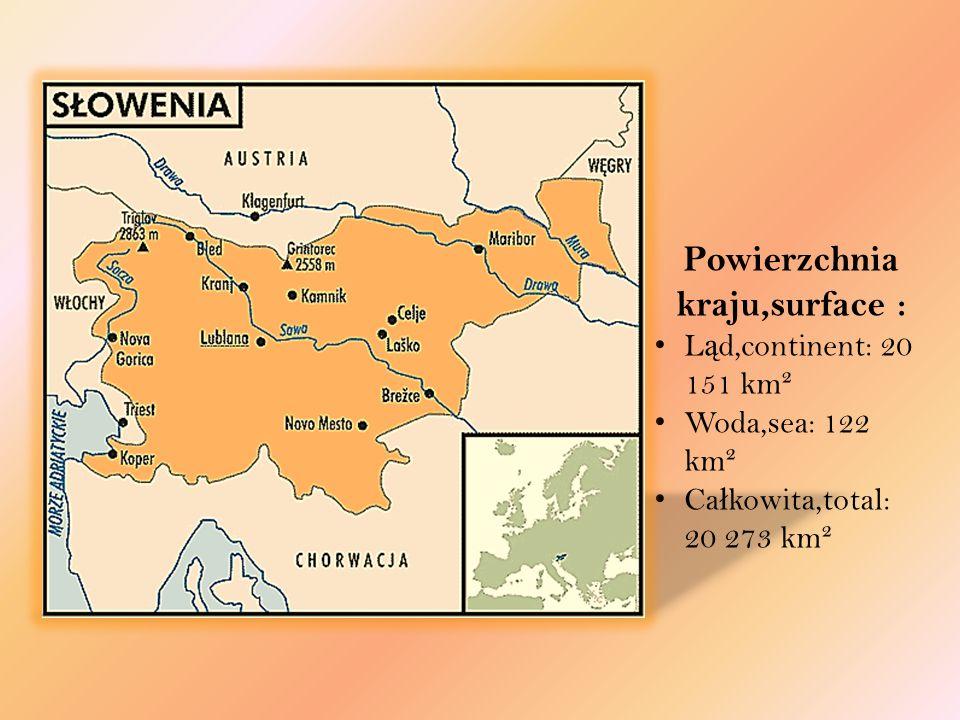 Słowenia, Republika Słowenii – państwo położone w Europie Środkowej, posiadające dostęp do Morza Adriatyckiego. Słowenia należy do NATO od 29 marca 20