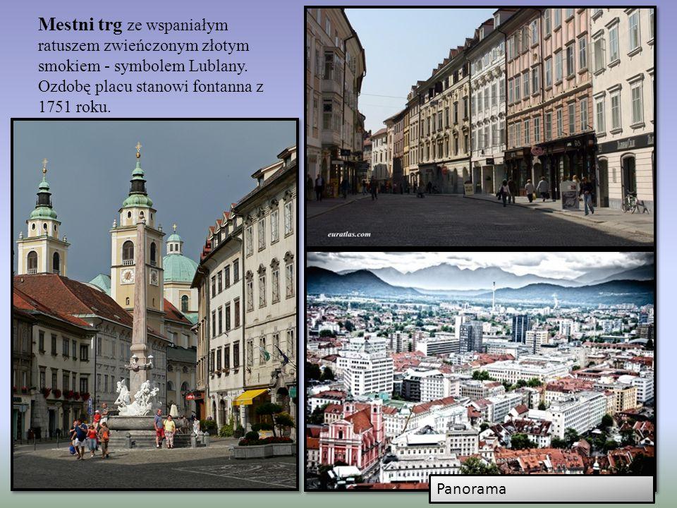 Lublana Stolica Słowenii jest jedną z mniejszych stolic europejskich. Lublana jest miastem urokliwym, czystym, a życie studenckie toczy się tu dzień i