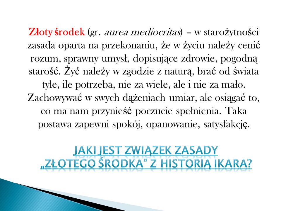 Z ł oty ś rodek (gr.