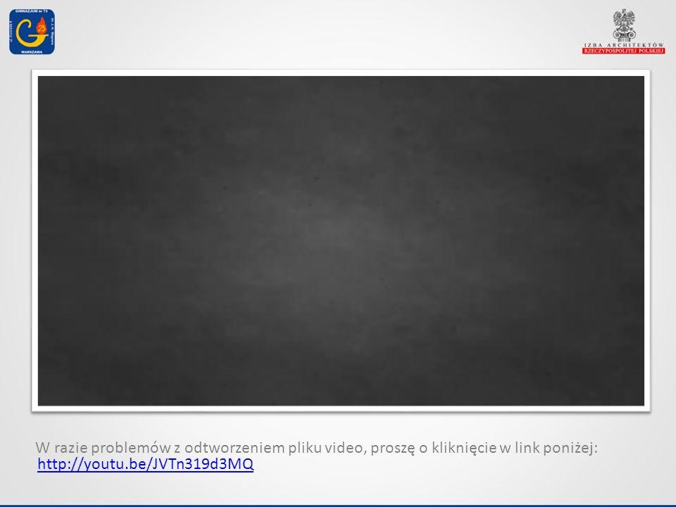 http://youtu.be/JVTn319d3MQ W razie problemów z odtworzeniem pliku video, proszę o kliknięcie w link poniżej: