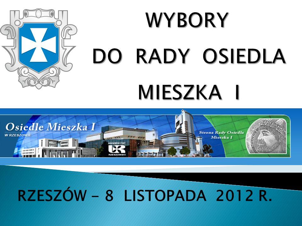RZESZÓW - 8 LISTOPADA 2012 R.