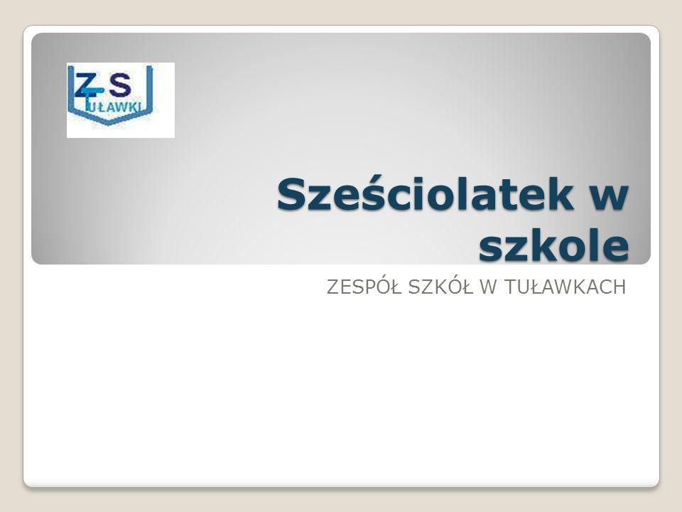 Zagadnienia: I.Działania organizacyjne związane z przyjęciem sześciolatków do szkoły II.