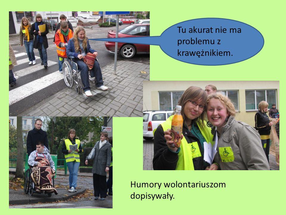 Remonty nie ułatwiają życia niepełnosprawnym.