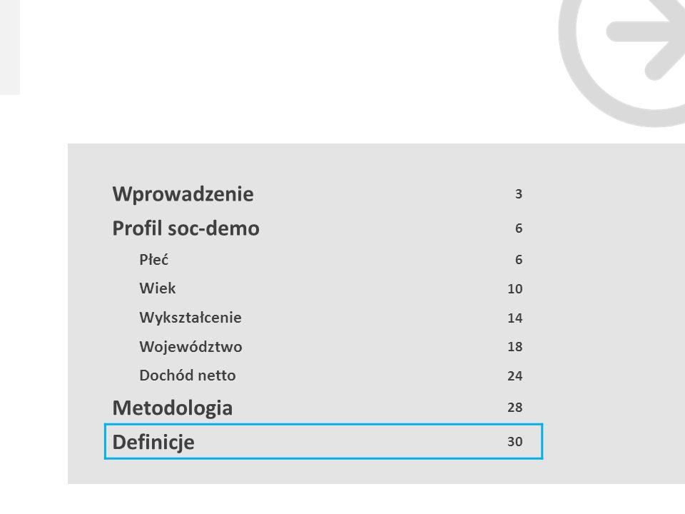 29 Źródło: Megapanel Gemius/PBI, 2011.12, 01.2013 Metodologia W badaniu gemiusProfile wykorzystywane są dwa źródła danych: system site-centric gemiusTraffic oraz badanie gemiusAudience.