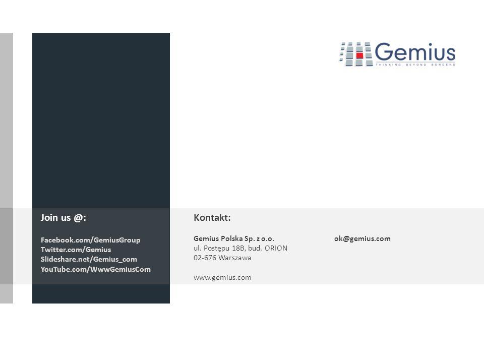 31 Źródło: Megapanel Gemius/PBI, 2011.12, 01.2013 Definicje Użytkownicy (real users) - Liczba użytkowników internetu z wybranej grupy celowej, którzy dokonali przynajmniej jednej odsłony na wybranym węźle w danym okresie.