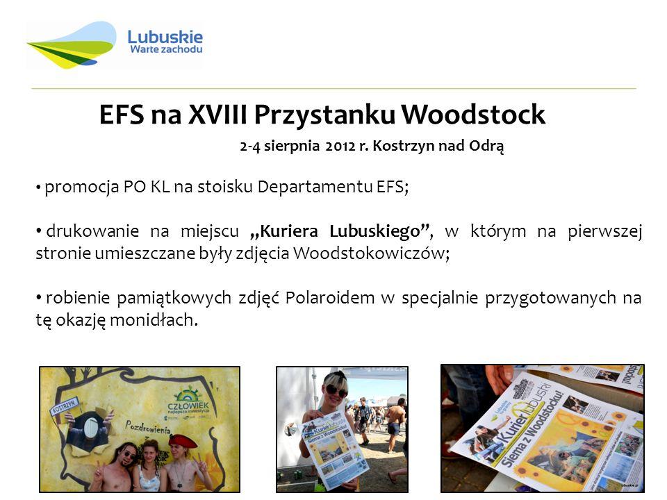EFS na XVIII Przystanku Woodstock 2-4 sierpnia 2012 r.