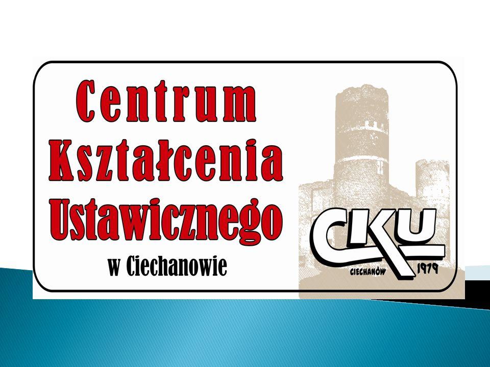 Szkoły wchodzące w skład CKU w Ciechanowie: 1.