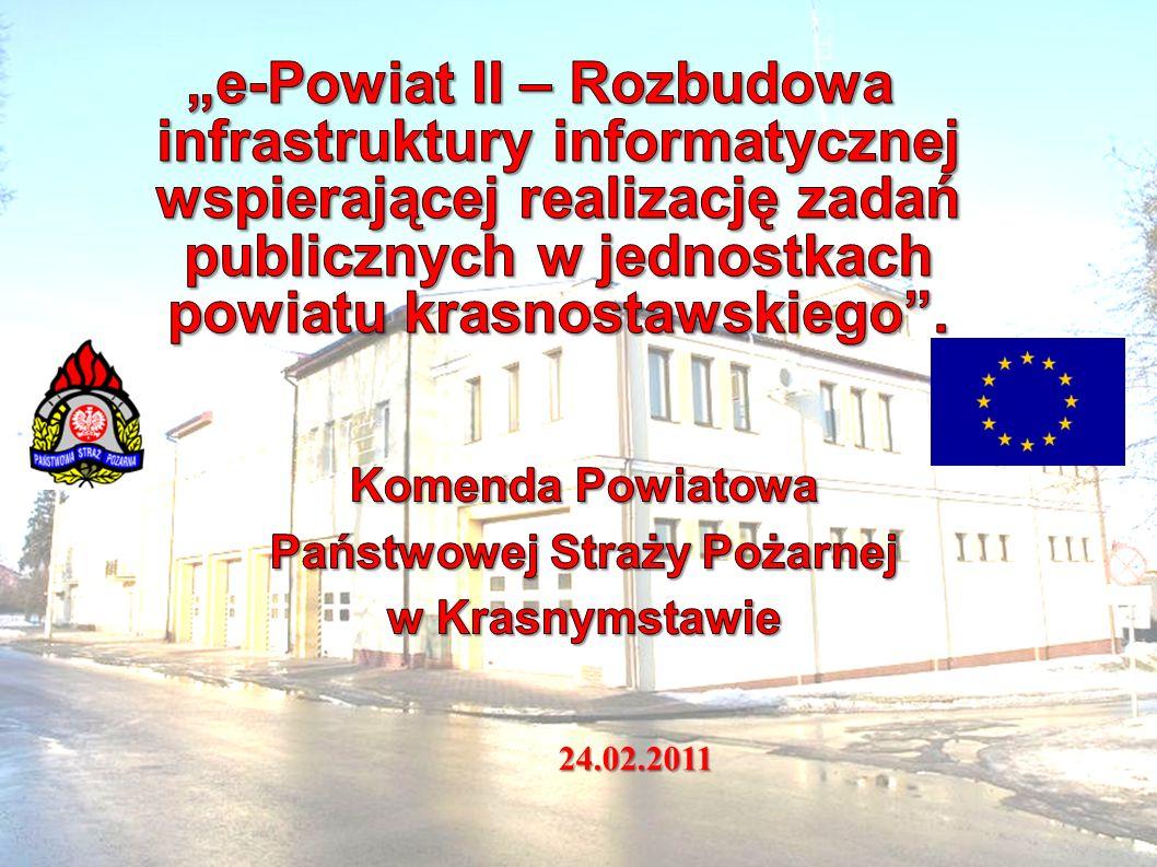 Projekt współfinansowany ze środków Europejskiego Funduszu Rozwoju Regionalnego w ramach Regionalnego Programu Operacyjnego Województwa Lubelskiego 2007-2013 Twój pomysł, europejskie pieniądze24.02.2011