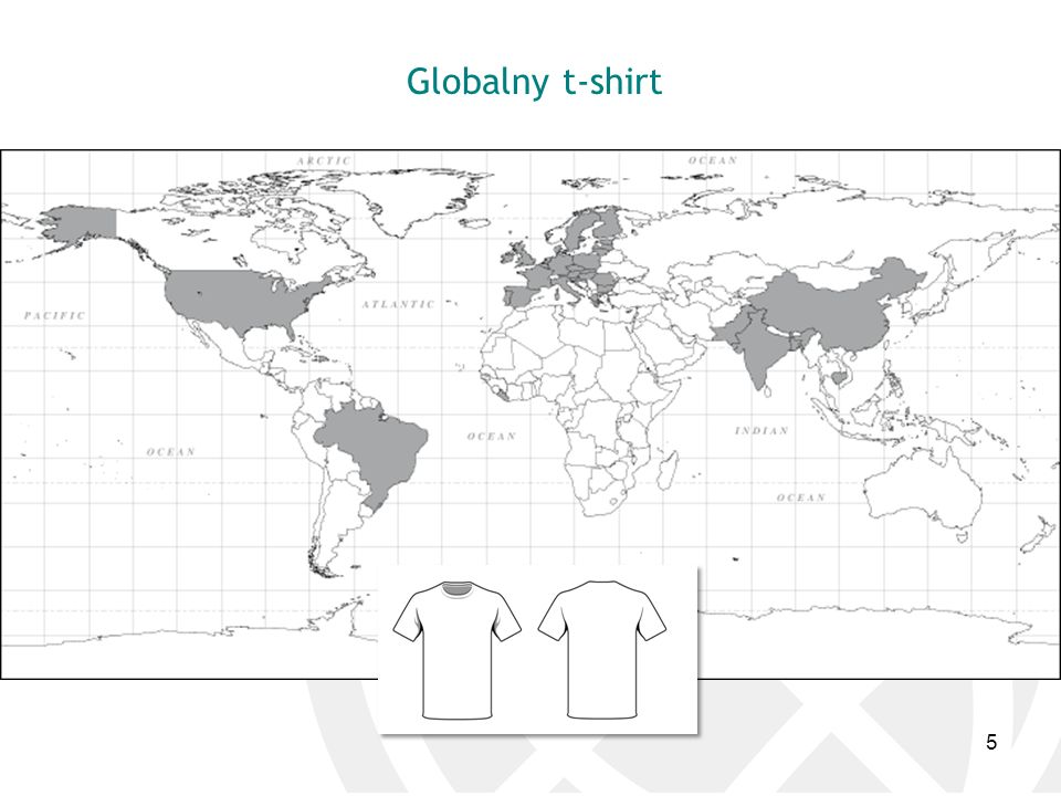 Globalny t-shirt 5
