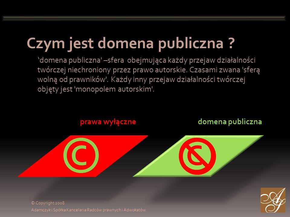 Czym jest domena publiczna .