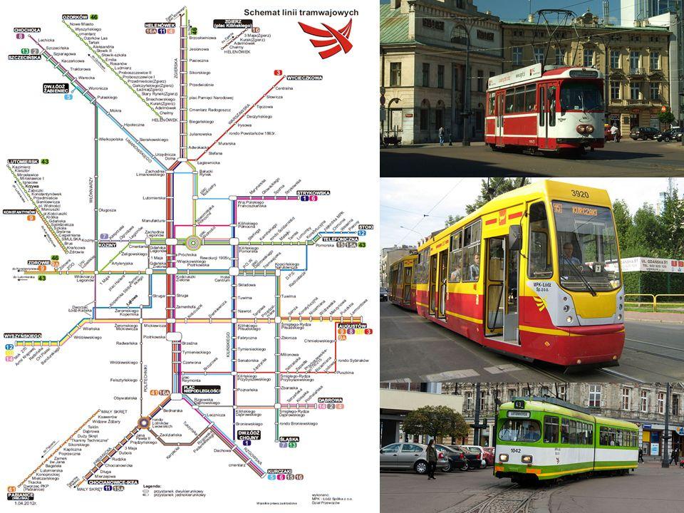 Miejskie Przedsiębiorstwo Komunikacyjne (MPK) w Łodzi Współczesne podmiejskie linie tramwajowe istnieją w oparciu o zachowaną infrastrukturę powstałą na przełomie XIX i XX w.