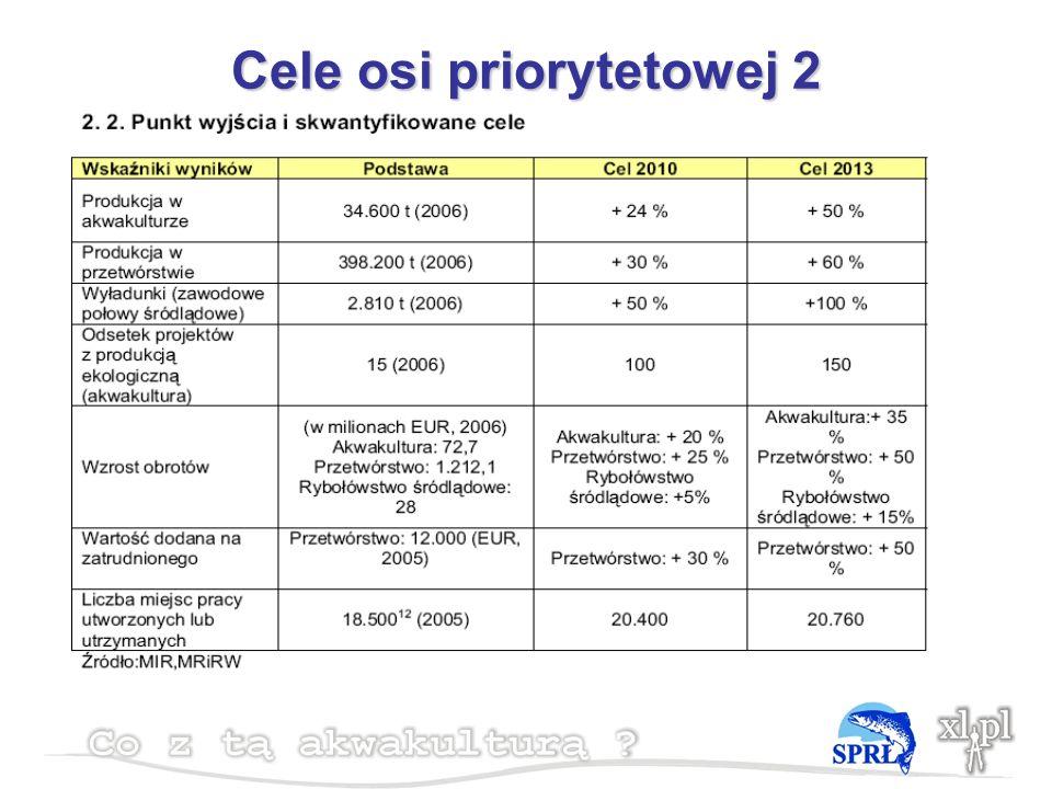 Cele osi priorytetowej 2