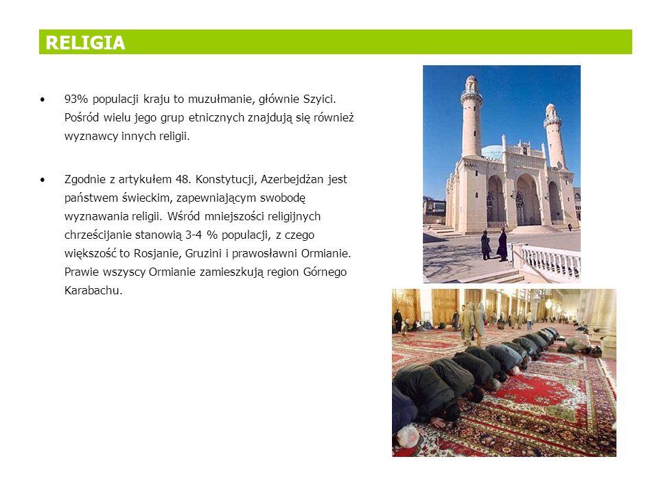93% populacji kraju to muzułmanie, głównie Szyici. Pośród wielu jego grup etnicznych znajdują się również wyznawcy innych religii. Zgodnie z artykułem