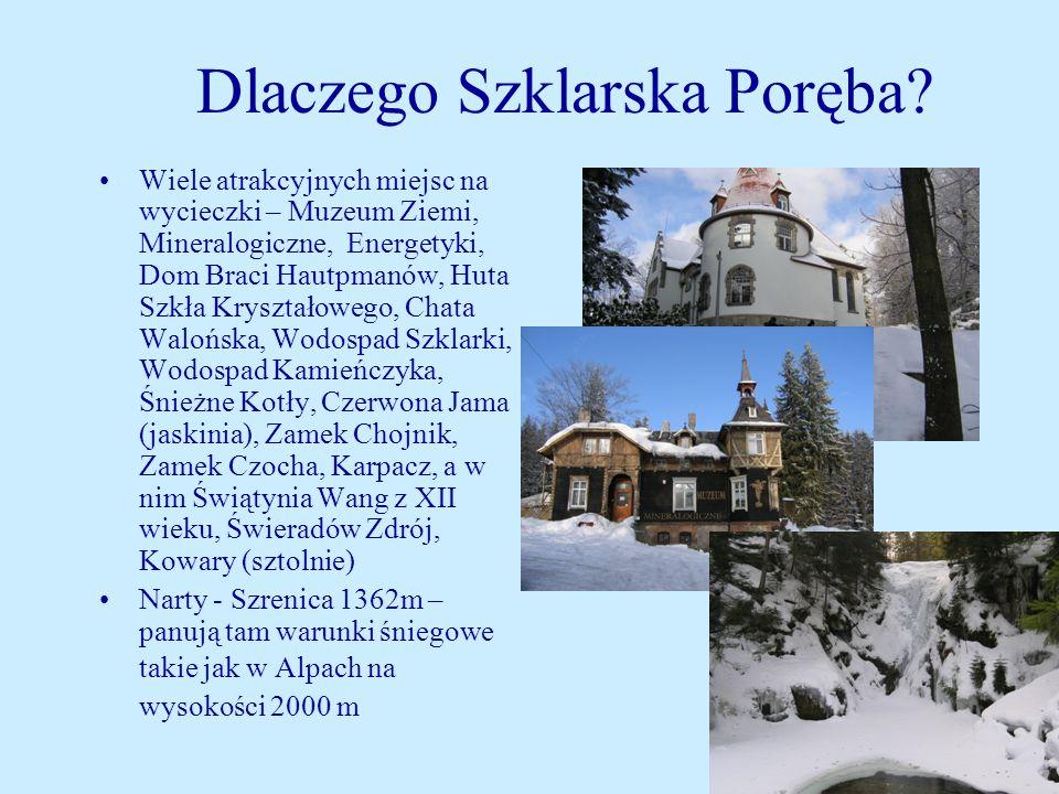 Informacje o ośrodku Zespół Szkoleniowo - Wypoczynkowy MSWiA RZEMIEŚLNIK 58-580 Szklarska Poręba ul.