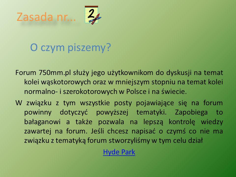 ŻYCZYMY PRZYJEMNEGO KORZYSTANIA Z FORUM 750MM.PL
