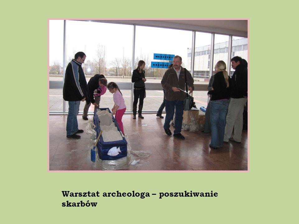 Warsztat archeologa – poszukiwanie skarbów