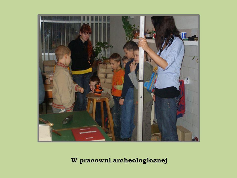 W pracowni archeologicznej