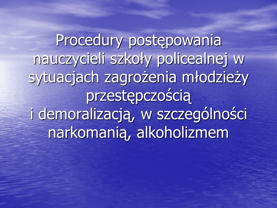 Jest to jeden z modułów Krajowego Programu Zapobiegania Niedostosowaniu Społecznemu Jest to jeden z modułów Krajowego Programu Zapobiegania Niedostosowaniu Społecznemu i Przestępczości wśród Dzieci i Przestępczości wśród Dzieci i Młodzieży przyjętego przez Radę Ministrów w dniu 13 stycznia 2004 roku i Młodzieży przyjętego przez Radę Ministrów w dniu 13 stycznia 2004 roku