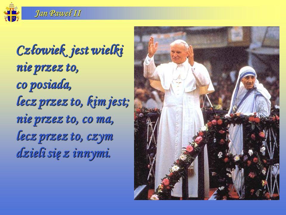 Jan Paweł II Nie mam gotowych odpowiedzi na ważne pytania