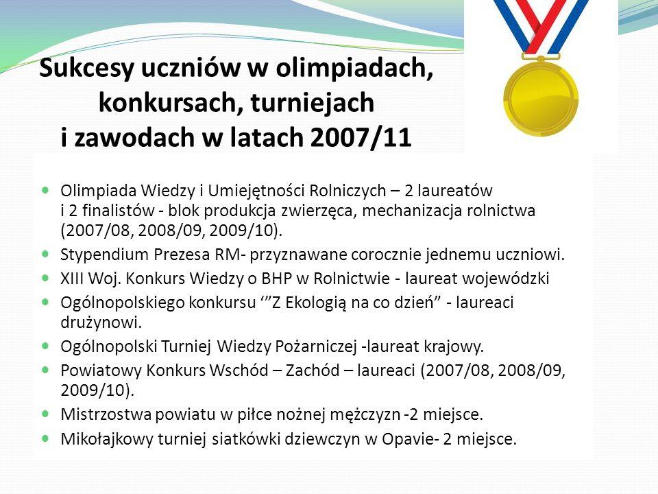 Najważniejsze osiągnięcia szkoły w latach 2007-2011 W rankingu szkół ponadgimnazjalnych ogłoszonym przez dziennikRzeczpospolita i miesięcznik Perspektywy zajęliśmy: w 2007r.