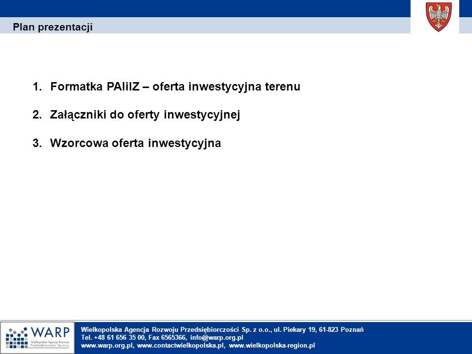 1.Einleitung Formatka PAIiIZ – oferta inwestycyjna terenu (1) 1.1.