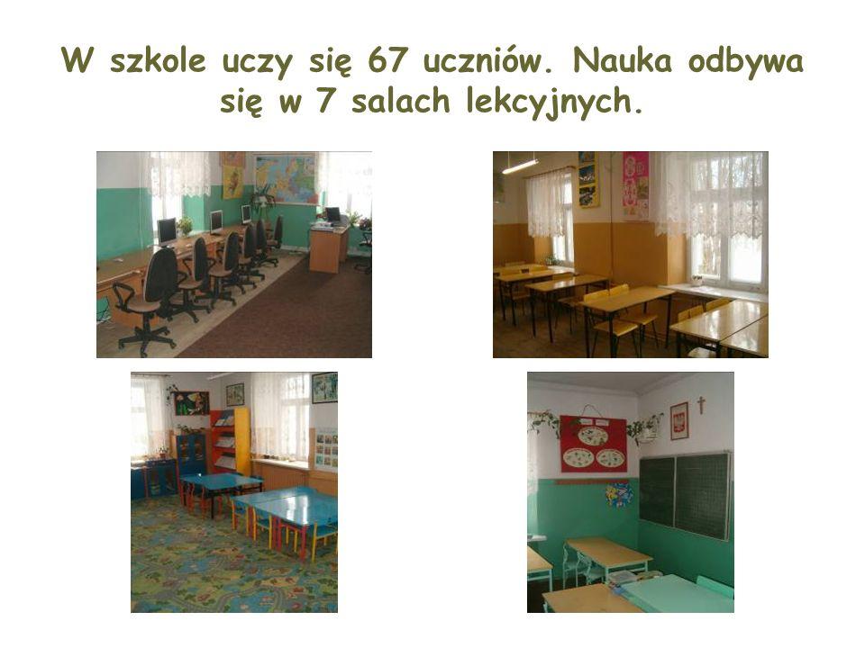 W szkole uczy się 67 uczniów. Nauka odbywa się w 7 salach lekcyjnych.