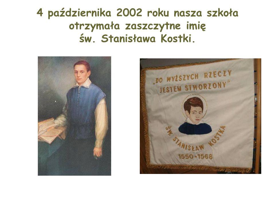 Z tej okazji odbyła się wielka uroczystość, w której wzięły udział władze oświatowe, samorządowe,kościelne oraz mieszkańcy Rostkowa.