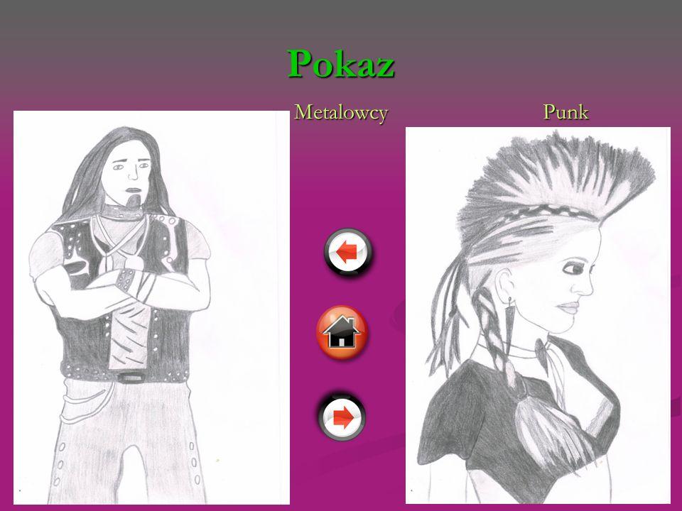 Pokaz Metalowcy Punk Metalowcy Punk