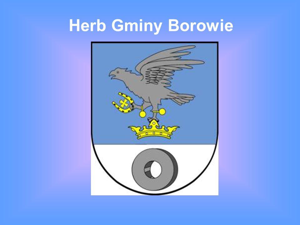 Mapa Gminy Borowie