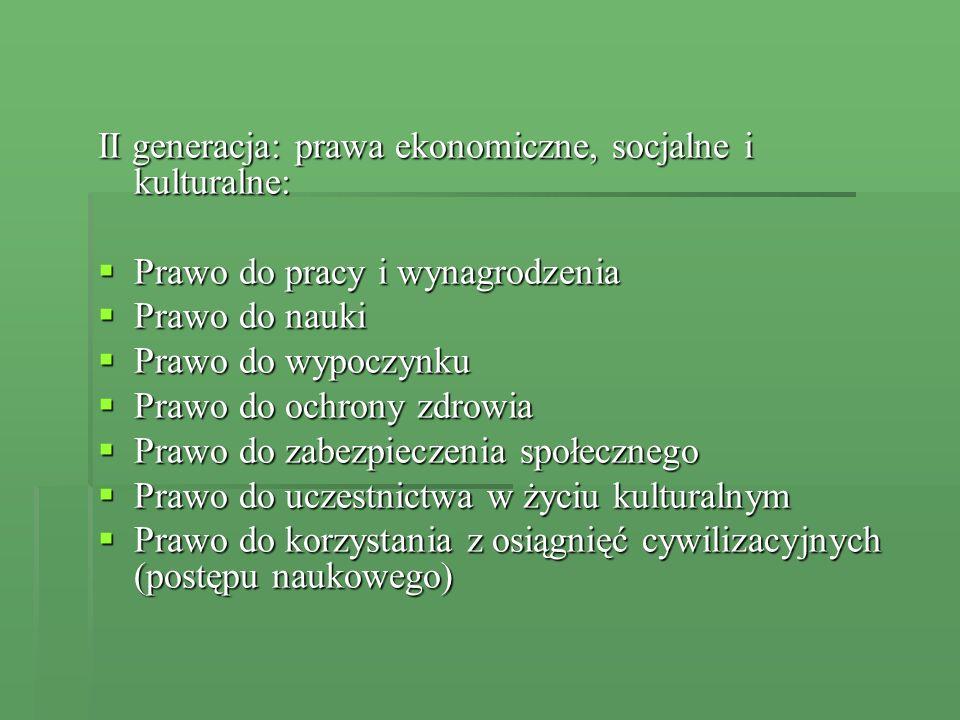 [Konstytucja Rzeczypospolitej Polskiej] Polska konstytucja nazywana jest często konstytucją praw człowieka – zawiera szeroki katalog praw i wolności obejmujący 57 artykułów Każda osoba, która uważa, że jej wolności lub prawa zostały naruszone może wnieść skargę konstytucyjną Każdy może zwrócić się do Rzecznika Praw Obywatelskich Konstytucja wprowadza zasadę wynagrodzenia szkody powstałej przez niezgodne z prawem działanie organu władzy publicznej Art.