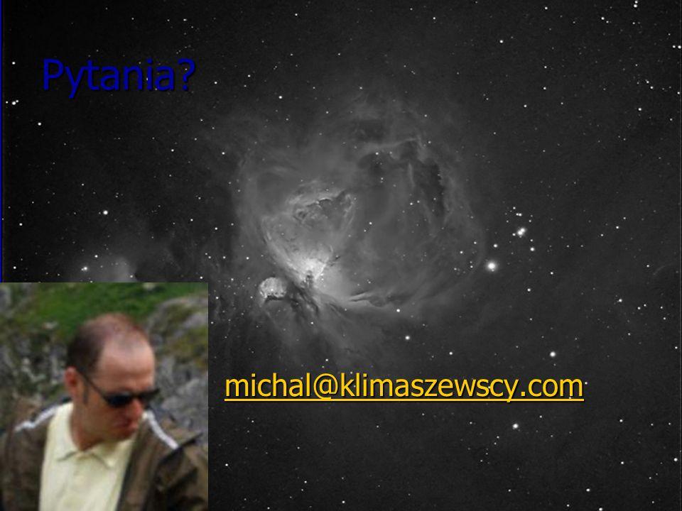 Pytania? michal@klimaszewscy.com