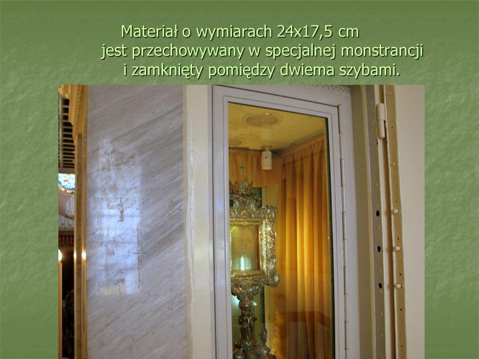 Centymetr kwadratowy welonu zbudowany jest z 26 poprzeplatanych nici, położonych względem siebie w równych odległościach.