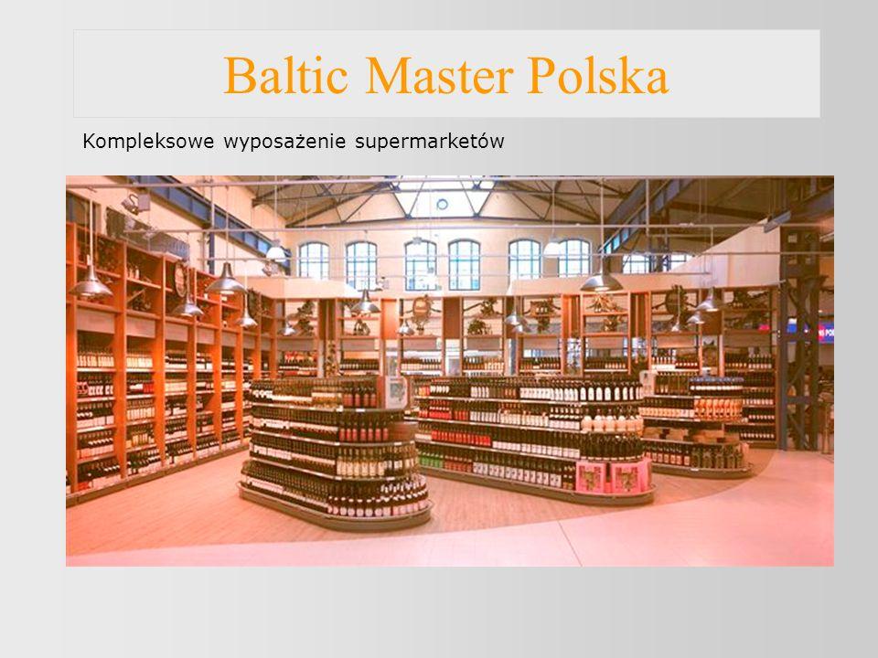 Baltic Master Polska Wyposażenie obiektów handlowych - butiki