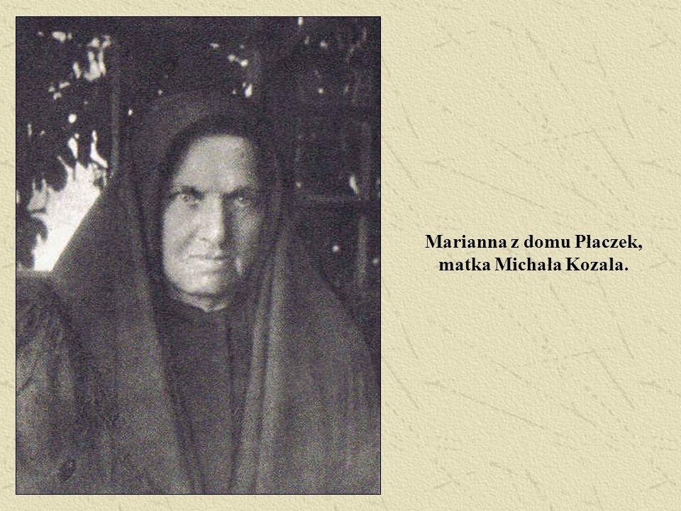 Marianna z domu Płaczek, matka Michała Kozala.