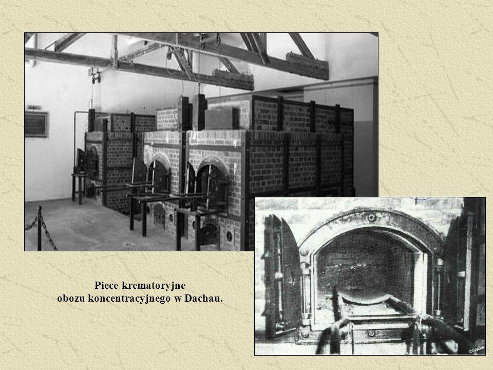 Piece krematoryjne obozu koncentracyjnego w Dachau.