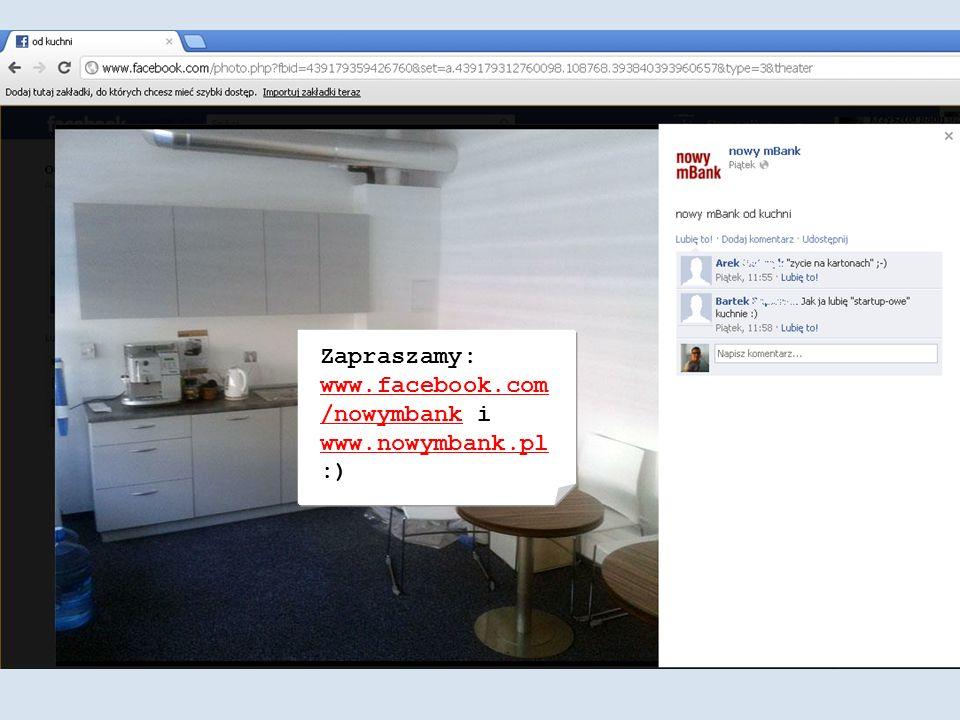 Zapraszamy: www.facebook.com /nowymbank i www.nowymbank.pl :) www.facebook.com /nowymbank www.nowymbank.pl