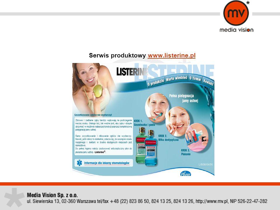 Zakres prowadzonych działań 1.Serwis skierowany do pacjentów oraz lekarzy stomatologów 2.