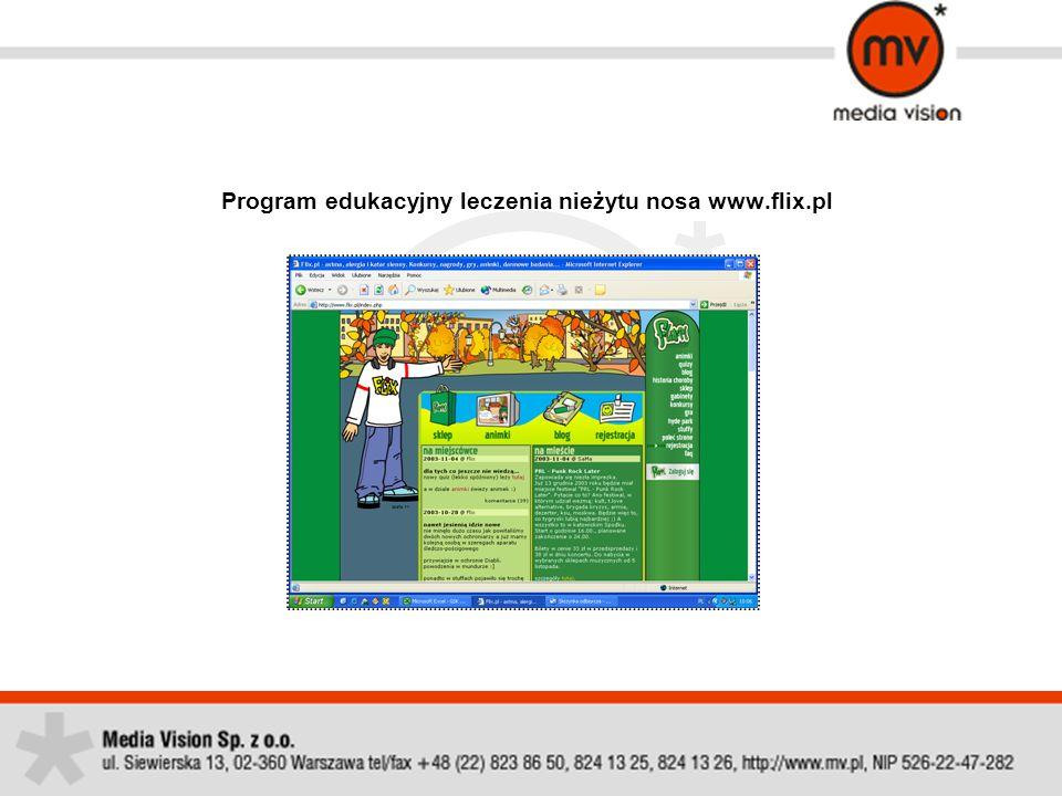 Program edukacyjny leczenia nieżytu nosa www.flix.pl