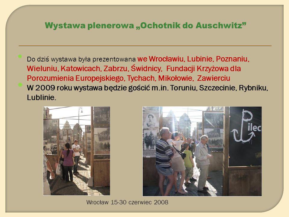 Po raz pierwszy wystawa zrealizowana przez Dolnośląską Inicjatywę Historyczną dzięki wparciu m.in..