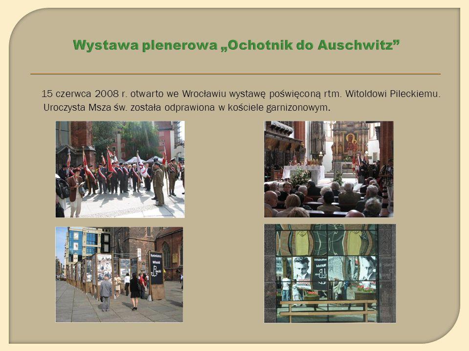 Do dziś wystawa była prezentowana we Wrocławiu, Lubinie, Poznaniu, Wieluniu, Katowicach, Zabrzu, Świdnicy, Fundacji Krzyżowa dla Porozumienia Europejskiego, Tychach, Mikołowie, Zawierciu W 2009 roku wystawa będzie gościć m.in.