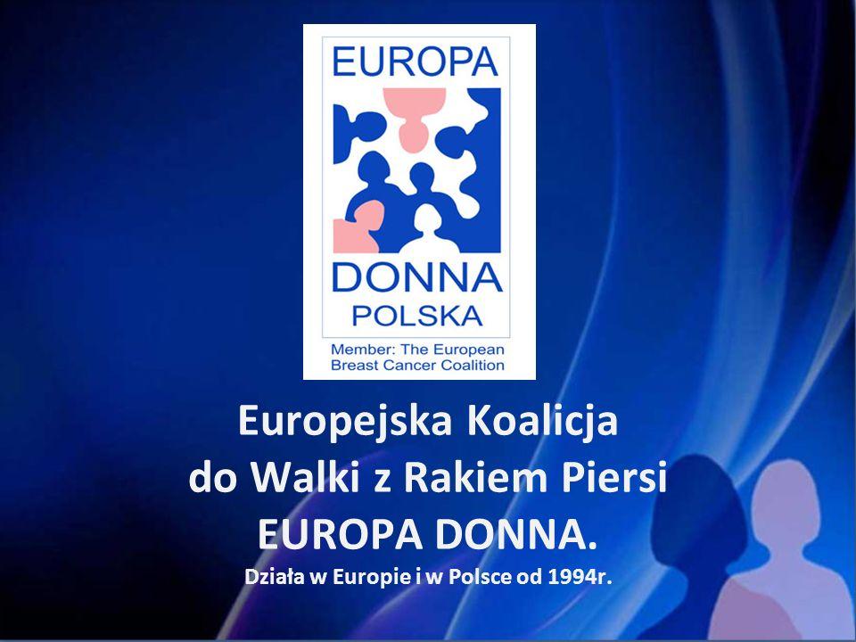 EUROPA DONNA W EUROPIE – HISTORIA.