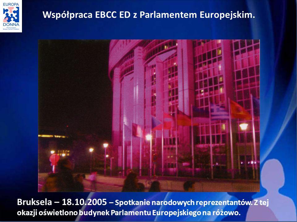 Bruksela – 18.10.2005 – Spotkanie narodowych reprezentantów.