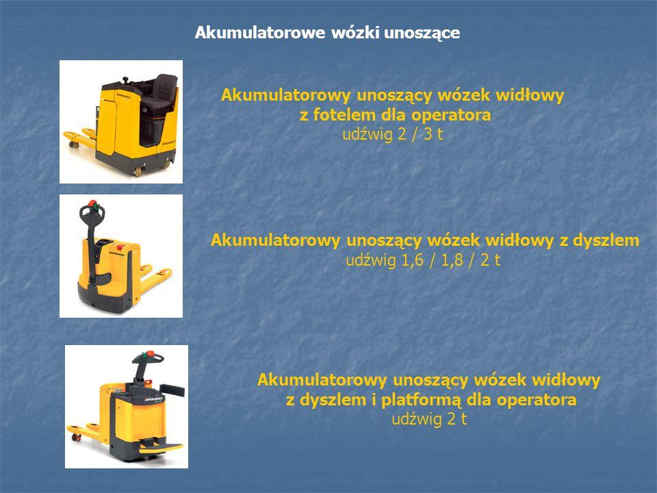 Akumulatorowe wózki unoszące Akumulatorowy unoszący wózek widłowy z fotelem dla operatora udźwig 2 / 3 t Akumulatorowy unoszący wózek widłowy z dyszle